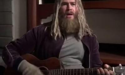Fat Thor Chris Hemsworth