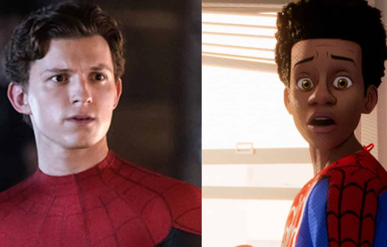 Spider-Man: Into The Spider-Verse Tom Holland