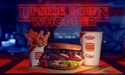 Stranger Things Upside Down Whopper Burger King