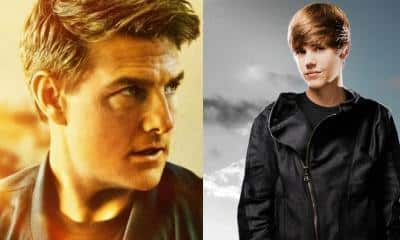 Tom Cruise Justin Bieber Fight