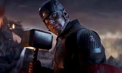 Avengers: Endgame Captain America Mjolnir