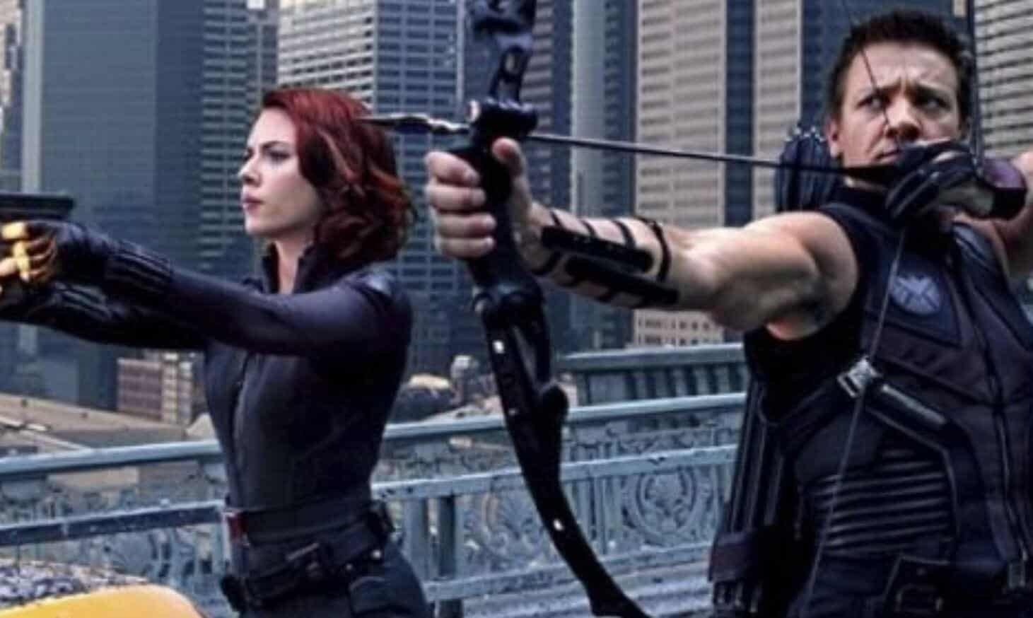 Black Widow Hawkeye