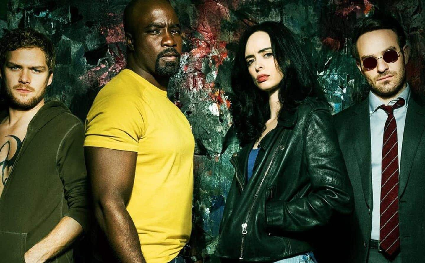 Marvel Netflix Characters MCU
