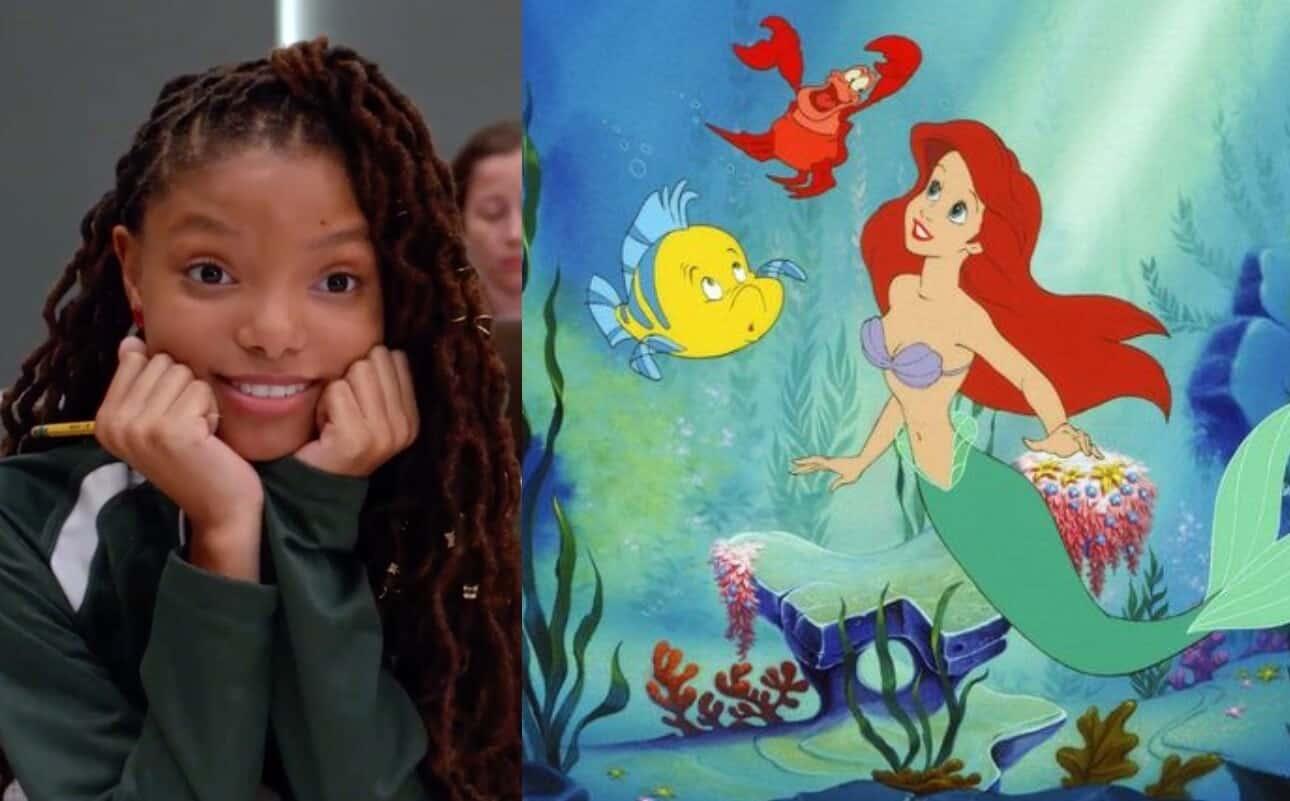The Little Mermaid Halle Bailey