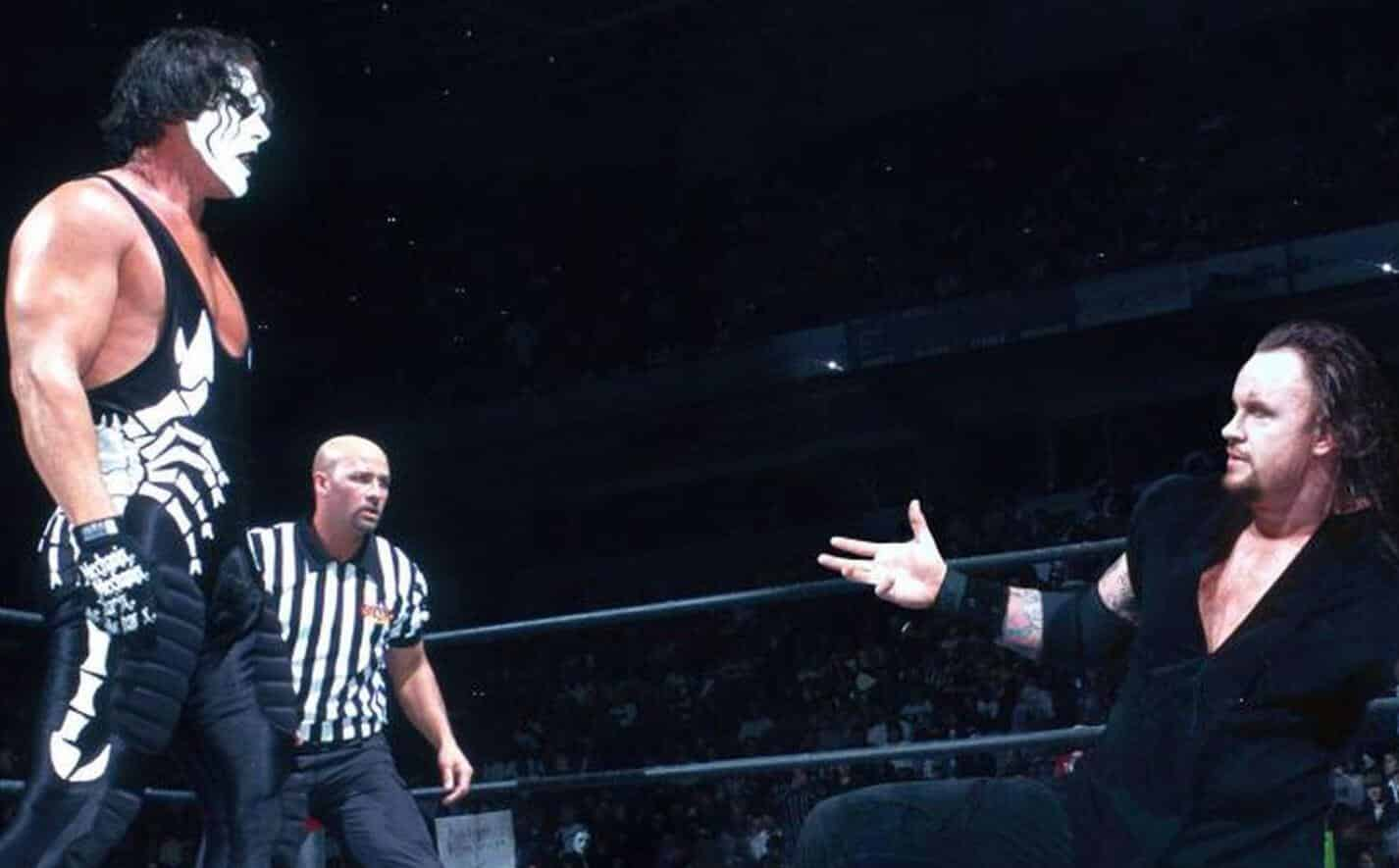 WWE Sting Undertaker
