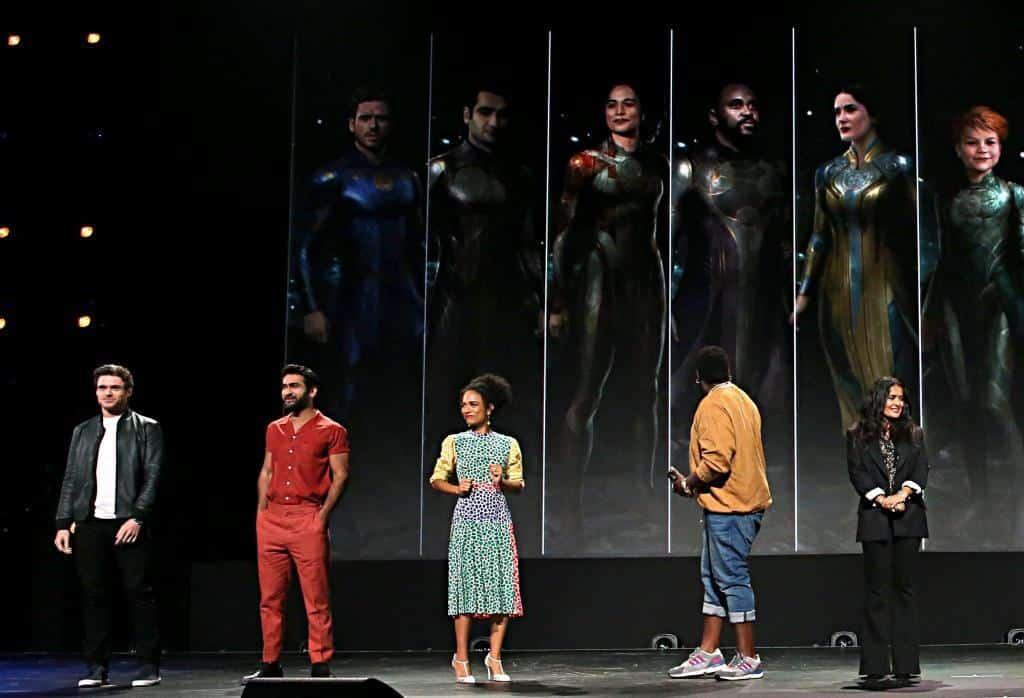 The Eternals Cast d23 expo