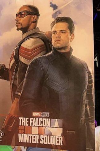 The Falcon and The Winter Solider poster d23 expo