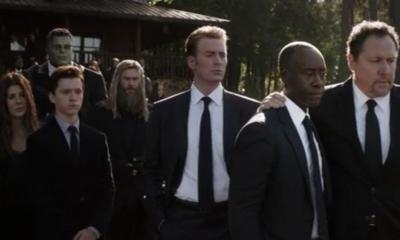 Avengers: Endgame Funeral Scene