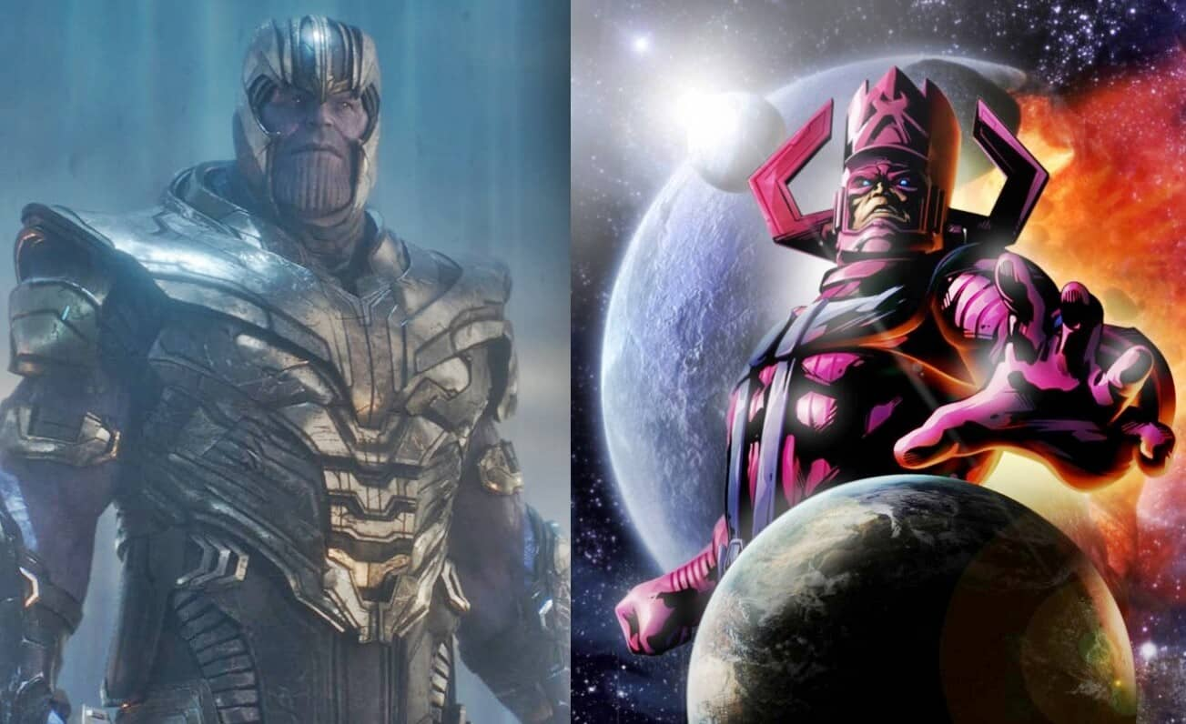 Avengers: Endgame Thanos Galactus
