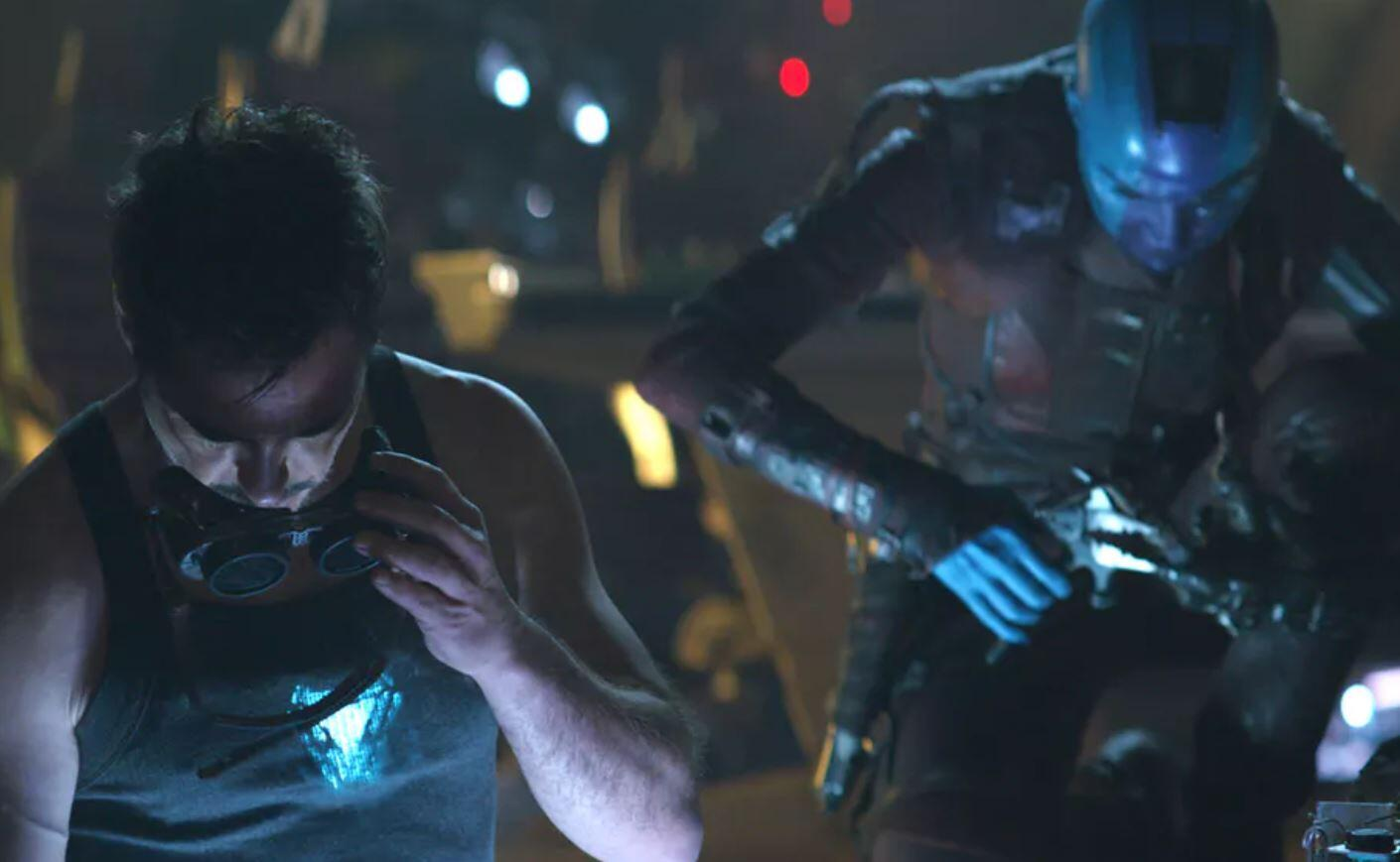 Avengers: Endgame Tony Stark Nebula