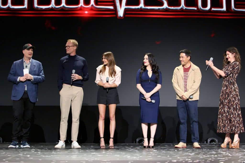 cast of wandavision d23 expo