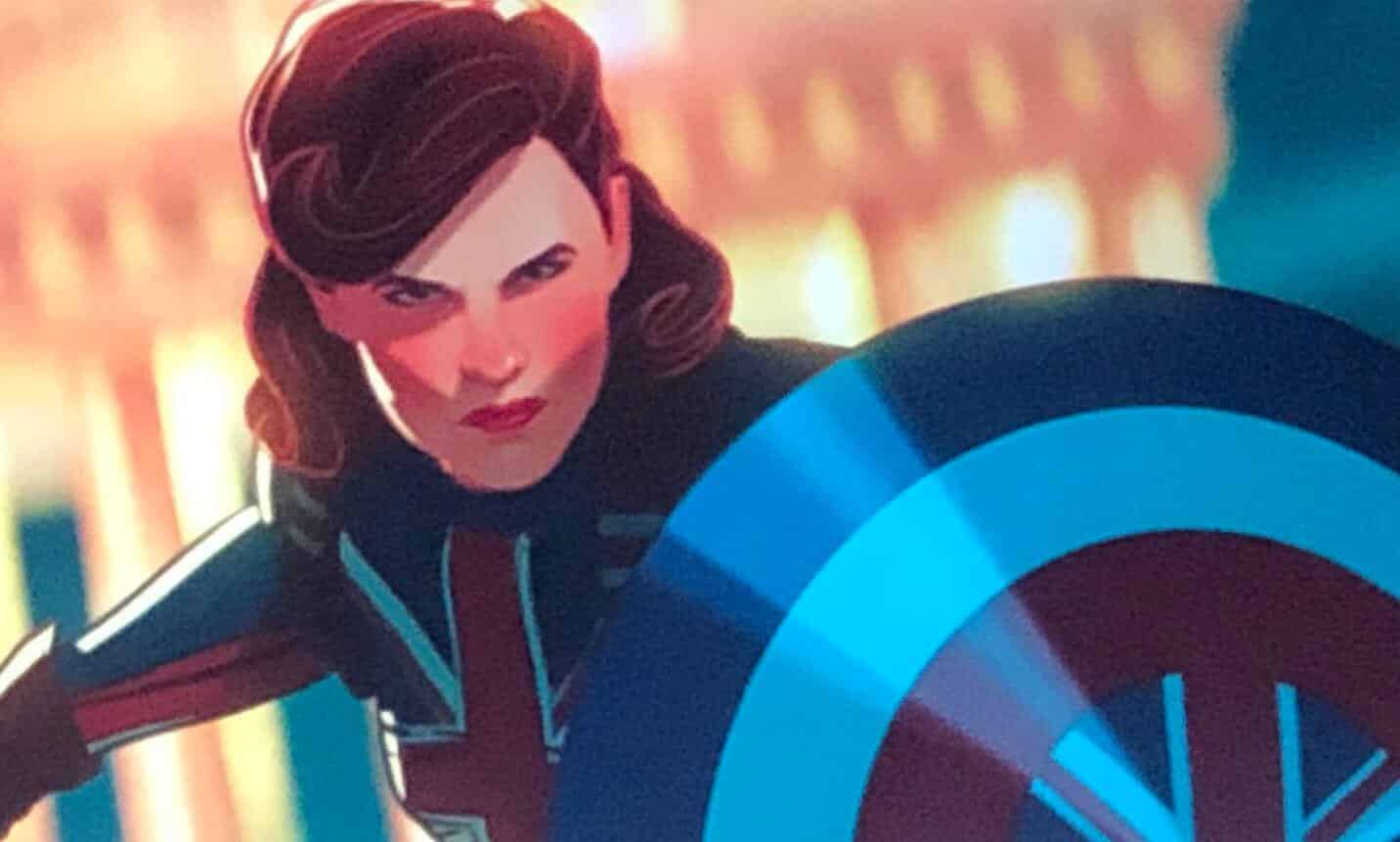 Marvel What If Show Peggy Carter