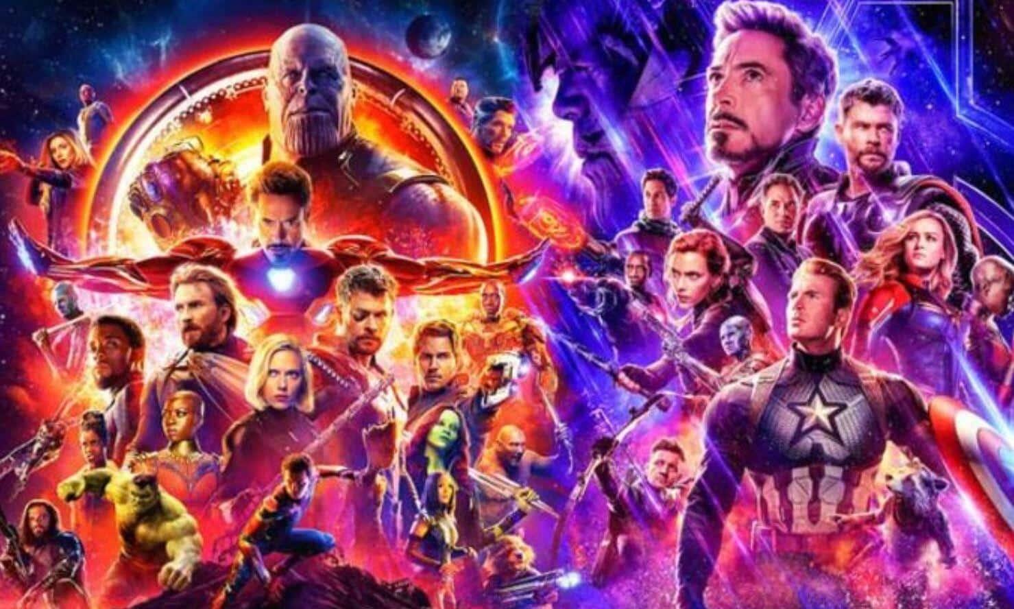 MCU Endgame Infinity War Avengers
