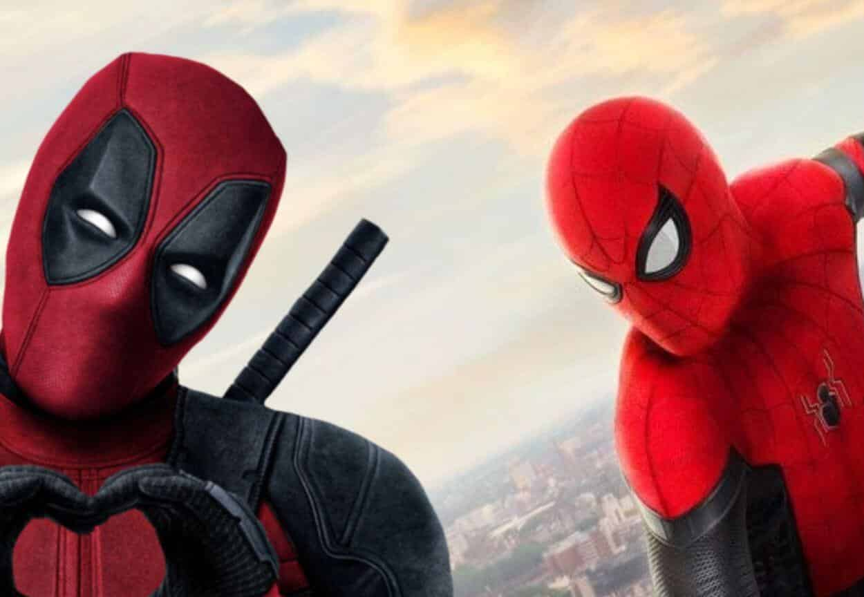 Spider-Man Deadpool Ryan Reynolds
