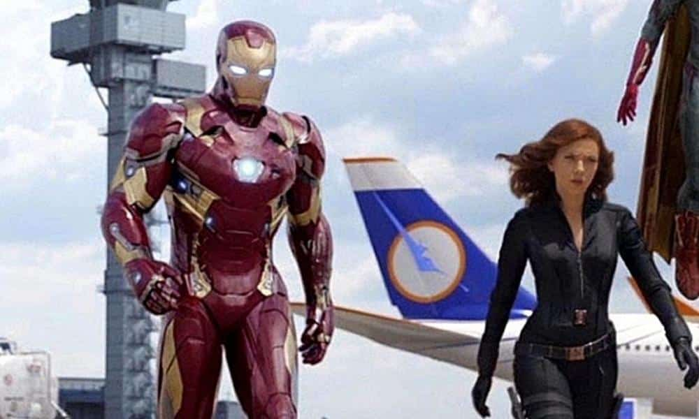 Black Widow Iron Man