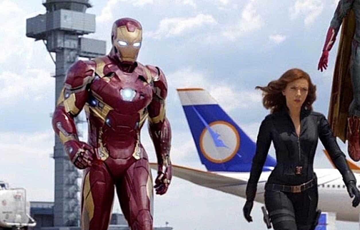 Black Widow Iron Man