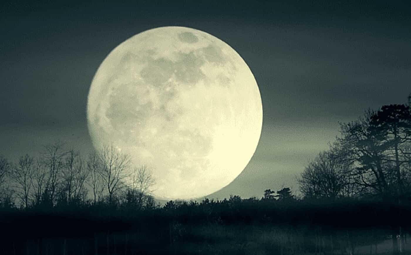 Full Moon Friday the 13th