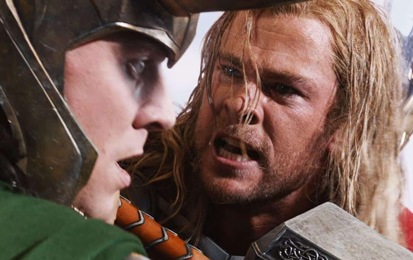 The Avengers Thor Loki Chris Hemsworth Tom Hiddleston