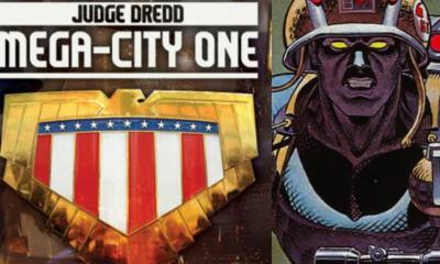 2000 AD Judge Dredd Mega: City One Rogue trooper