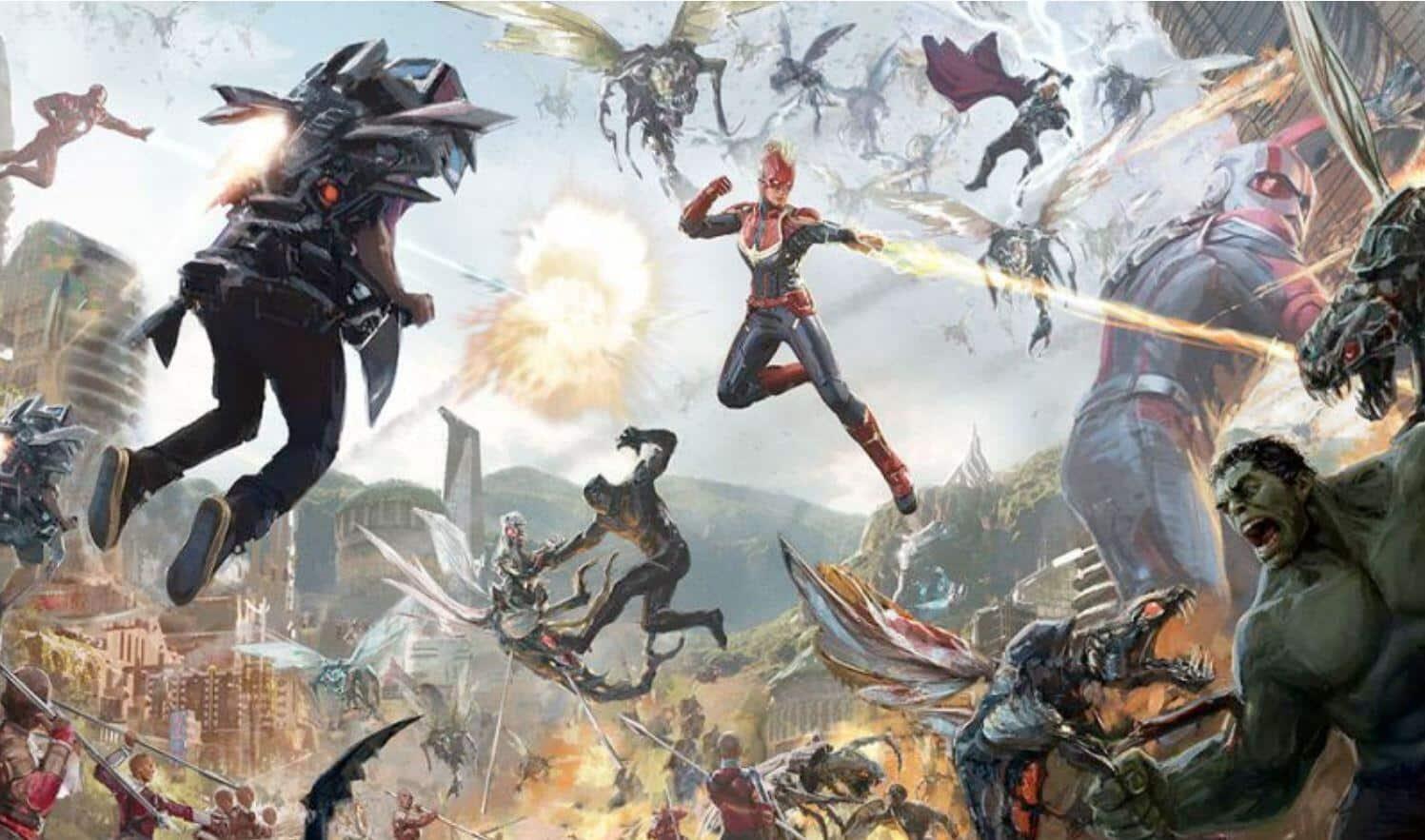 Avengers Disney Ride