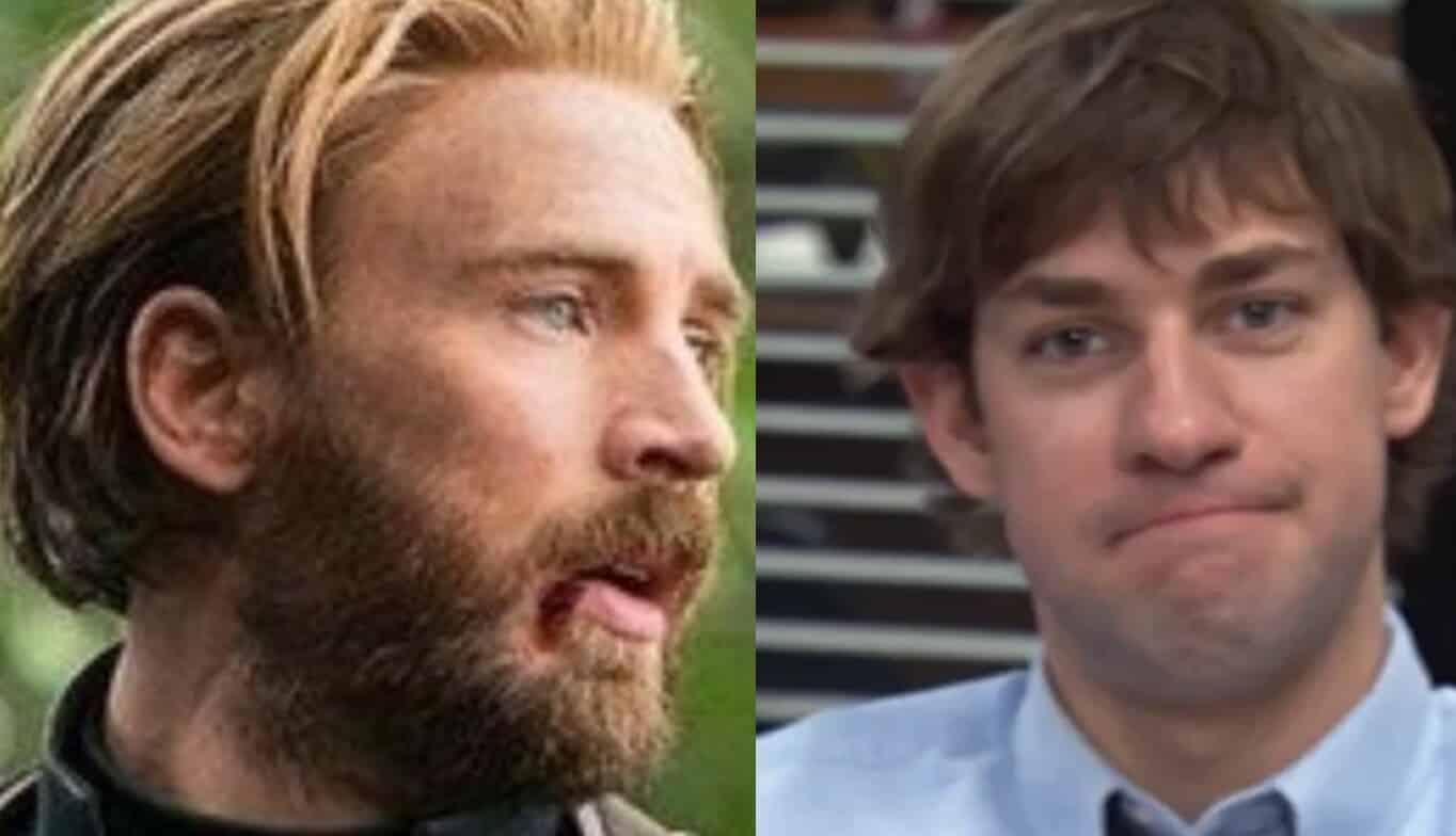 Captain America Chris Evans John Krasinski