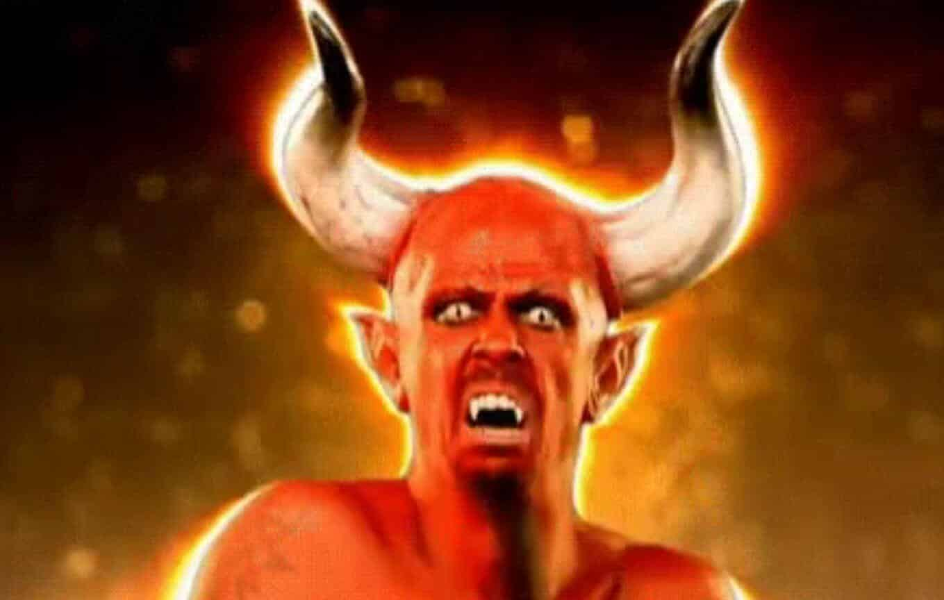 Halloween Satan