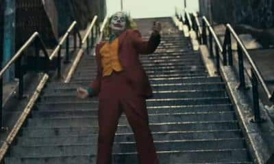 Joker Movie Stairs