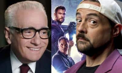 Kevin Smith Martin Scorsese Marvel MCU