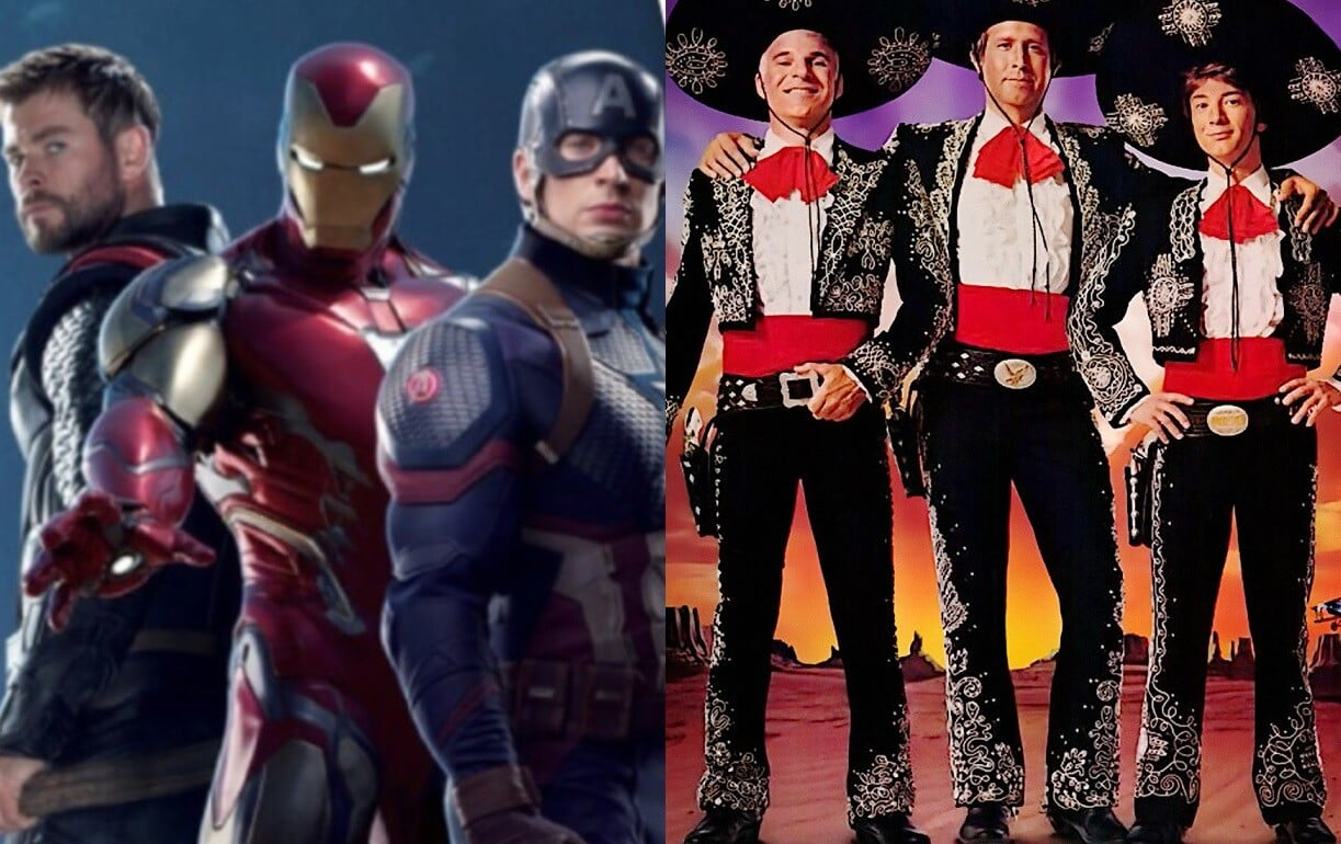 Three Amigos Avengers