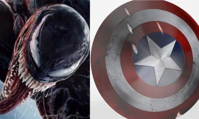 Venom Captain America Shield