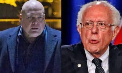 Vincent Donofrio Bernie Sanders