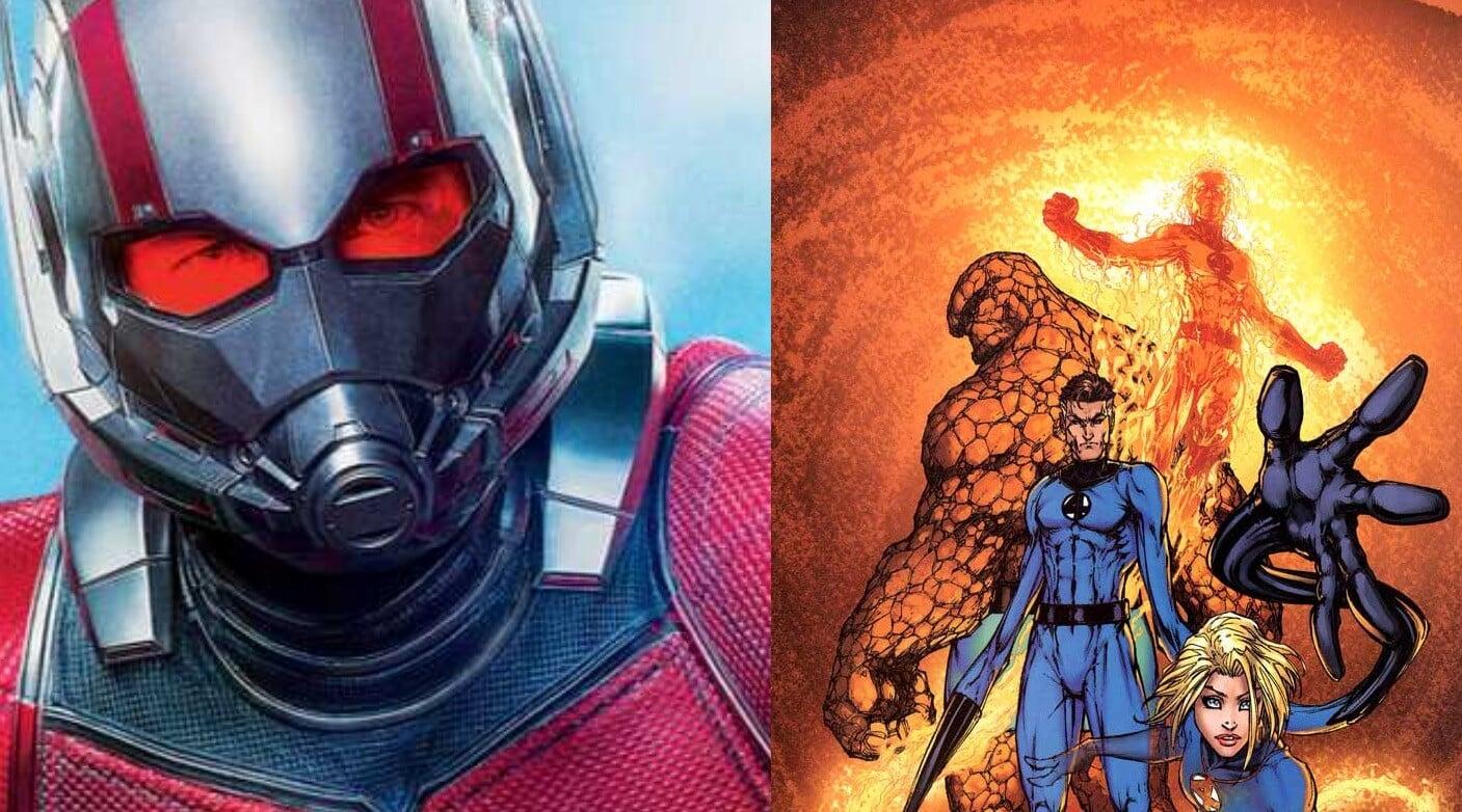 Ant-Man 3 Fantastic Four MCU