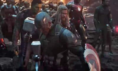 Avengers: Endgame Captain America Thor