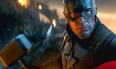 Avengers: Endgame Captain America Thor Hammer