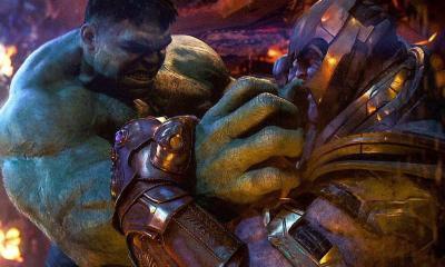 Avengers: Endgame Hulk Thanos