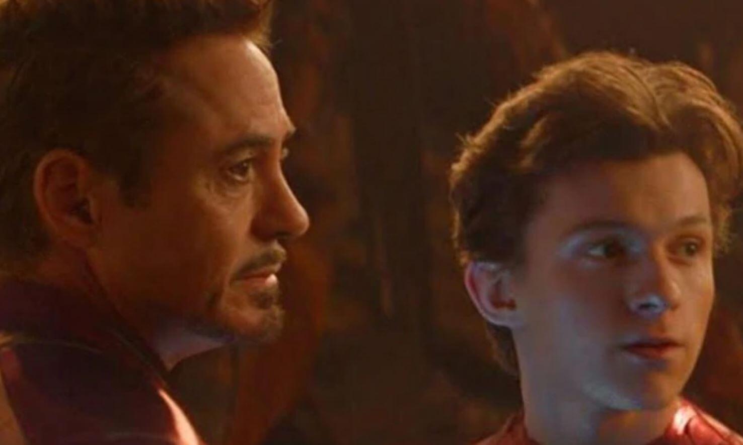 Avengers: Endgame Iron Man Spider-Man