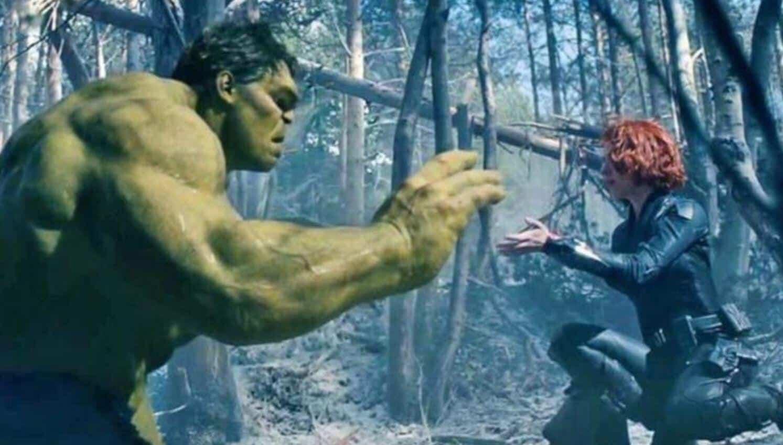 Avengers: Infinity War Hulk Black Widow