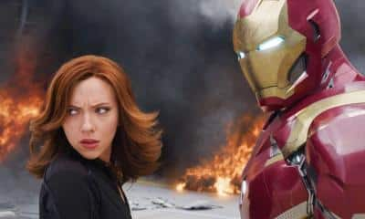 Black Widow Tony Stark Iron Man