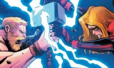 Captain Marvel Vs. Thor