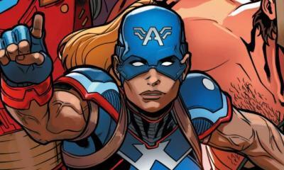 Female Captain America Marvel