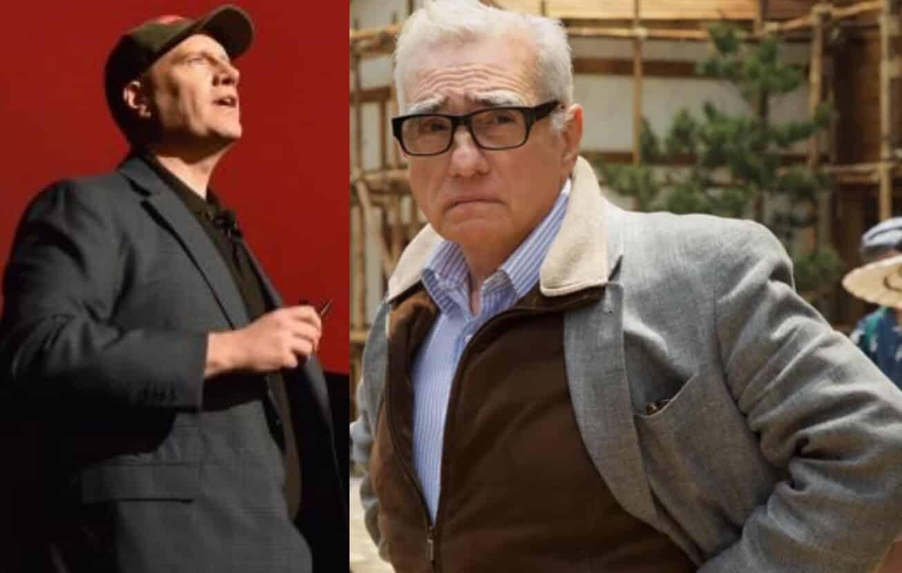 Kevin Feige Martin Scorsese Marvel