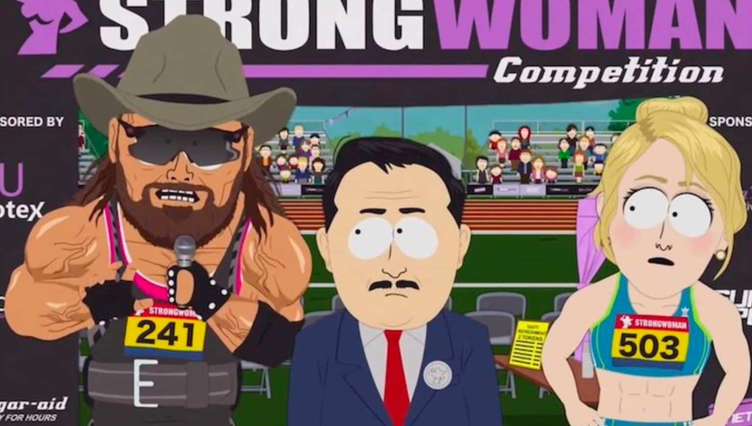 south park transgender randy savage