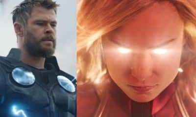 Thor Captain Marvel