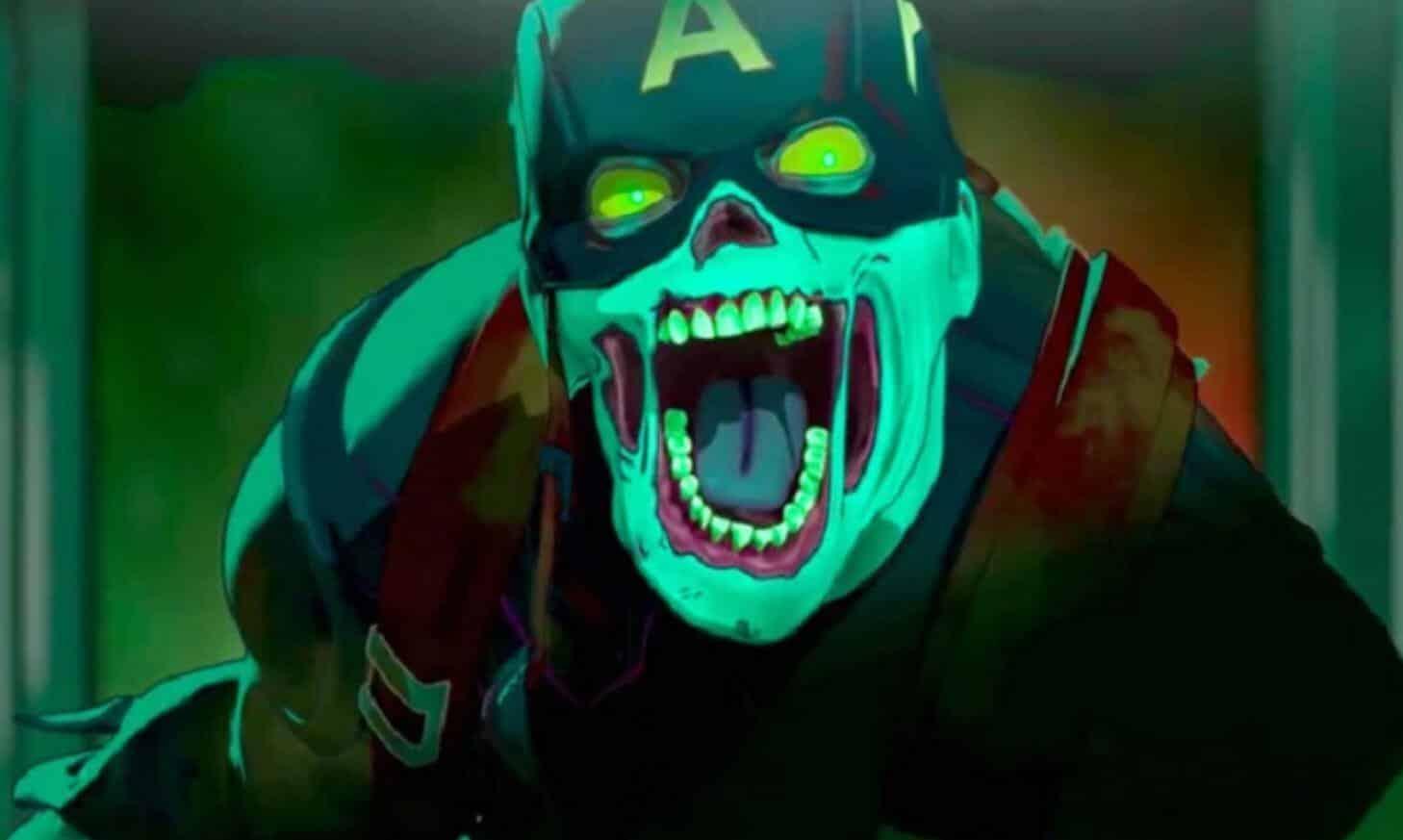 What If? Zombie Captain America Marvel Disney Plus