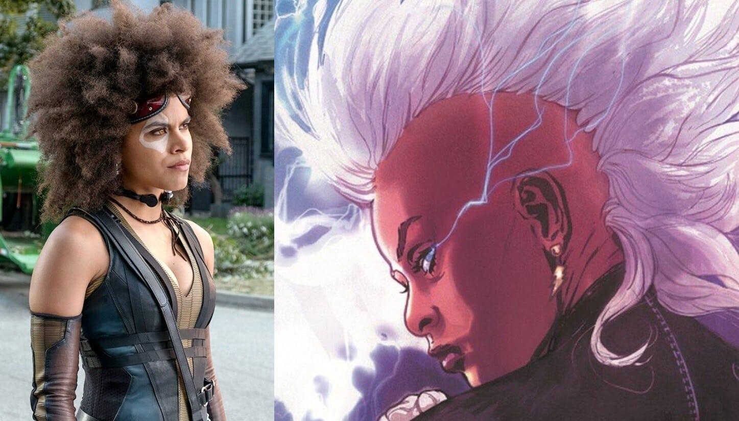 Zazie Beetz Storm MCU Marvel