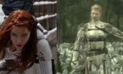 Black Widow Metal Gear Solid
