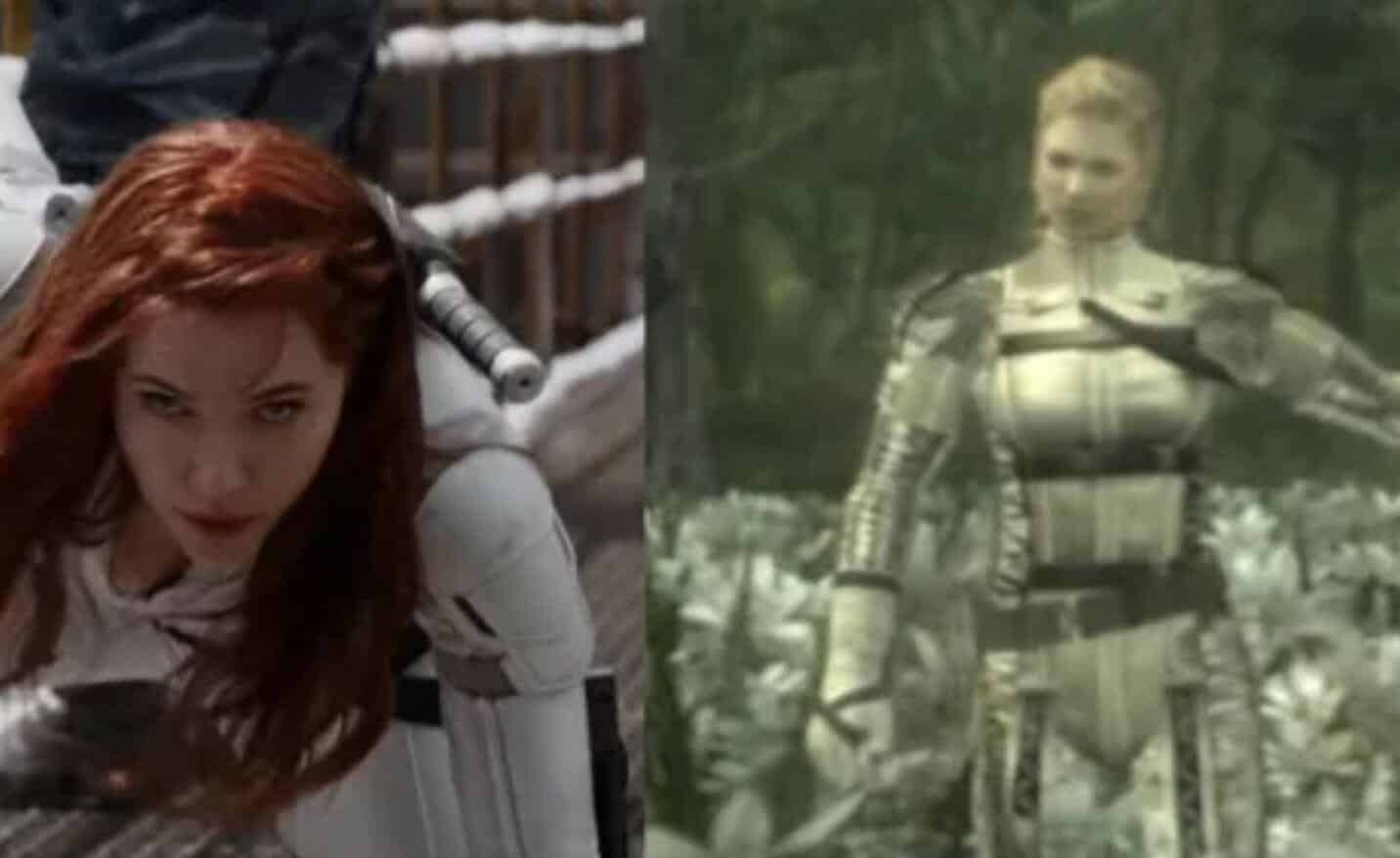 Metal Gear Solid Director Calls Out Black Widow Movie For