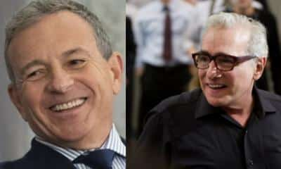 Bob IGer Martin Scorsese