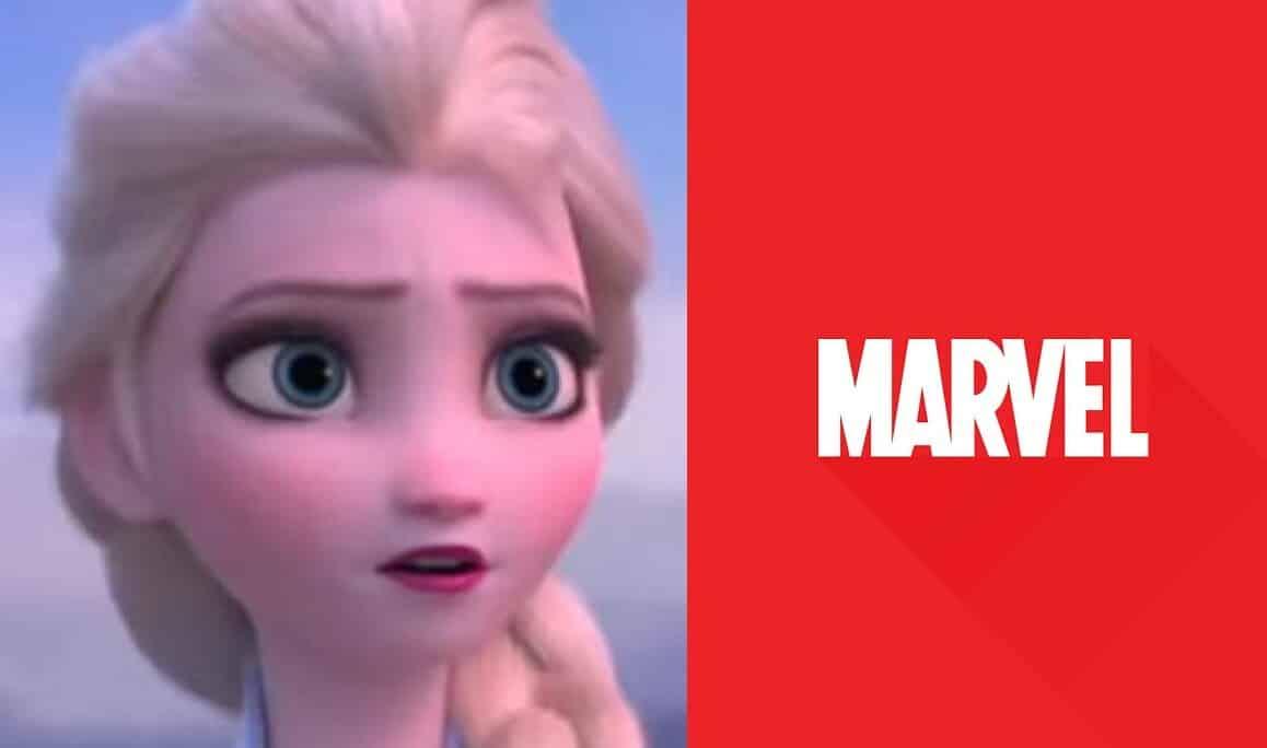 Frozen 2 Marvel