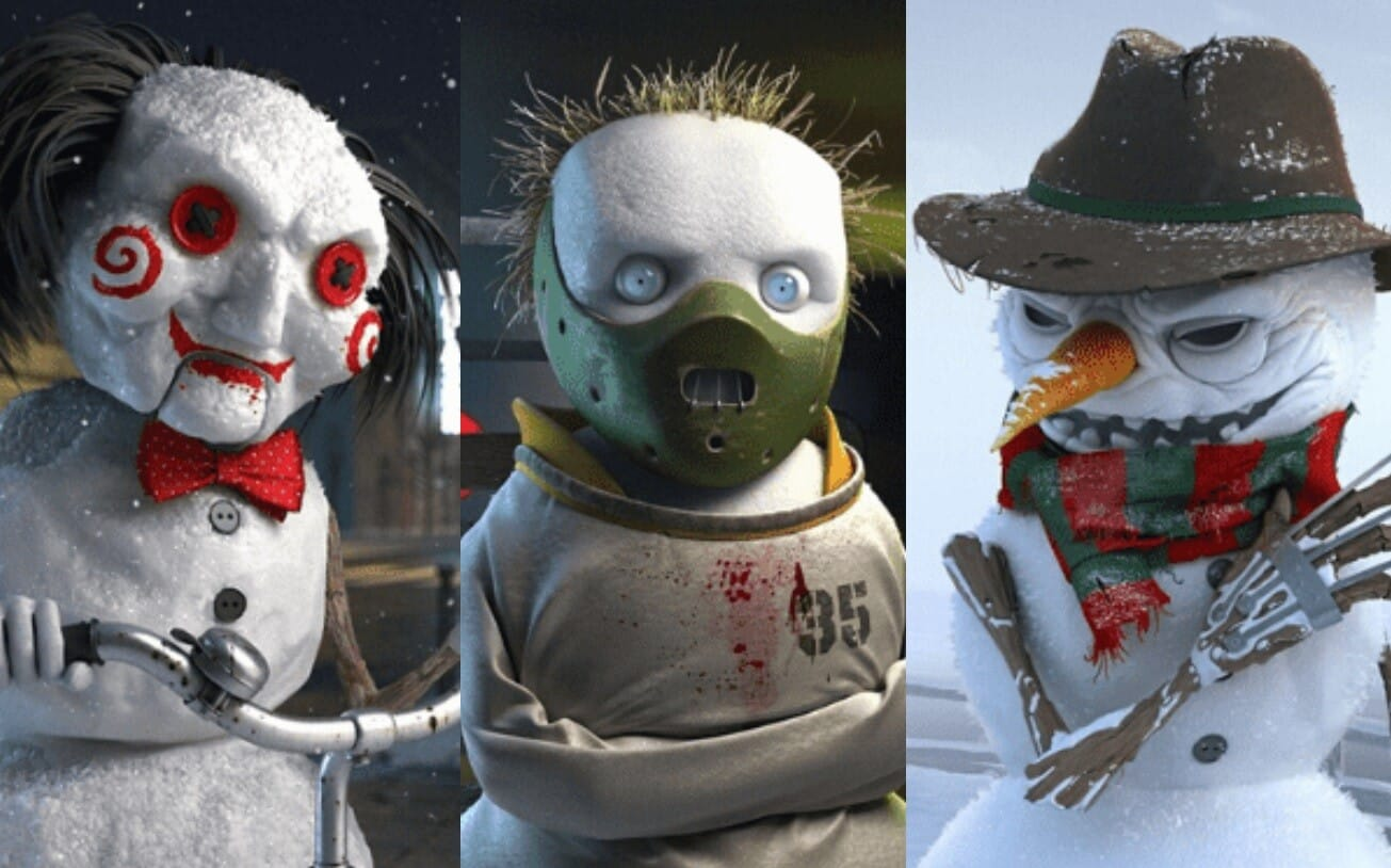 Horror Snowmen